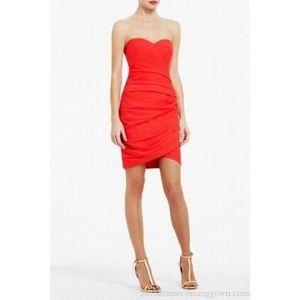 BCBG Coral/Red Madge Dress